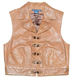 Ralph Lauren Women Fashion Genuine Leather Vest
