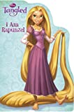 I am Rapunzel (Disney Tangled) (Shaped Board Book)