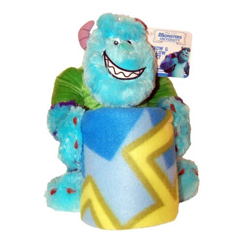 Disney Pixar Monsters University Hugger and Throw - Sulley - 1