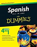 img - for Spanish All-in-One For Dummies book / textbook / text book