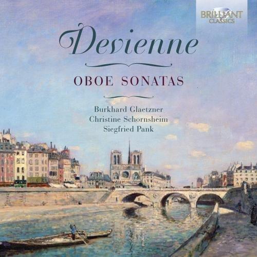 CD : Burkhard Glaetzner - Oboe Sonatas (CD)
