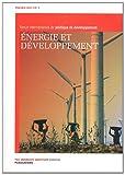 echange, troc  - POLDEV, N° 2/2011 : Energie et développement