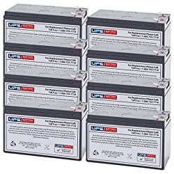 Dell 2700W (K803N-4U) - Brand New Compatible Replacement Battery Set