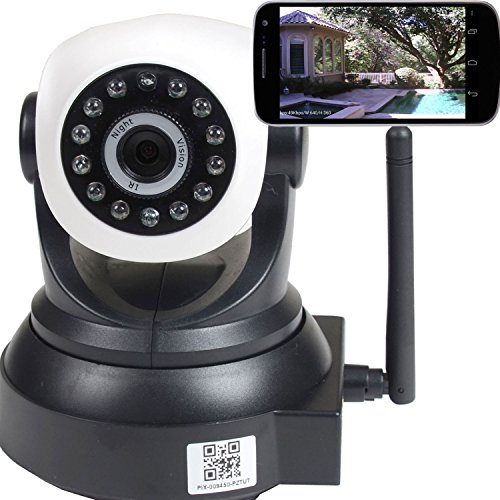 Videosecu Ip Wireless Video Baby Monitor Security Camera With Pan Tilt Wi-Fi For Iphone, Ipad, Android Phone Or Pc Remote View Ipp105B 1U5