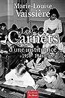 Les carnets d'une Institutrice 1931 1948 par Vaissière