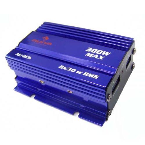 Auna kompakte 300 Watt Endstufe Verstärker Auto
