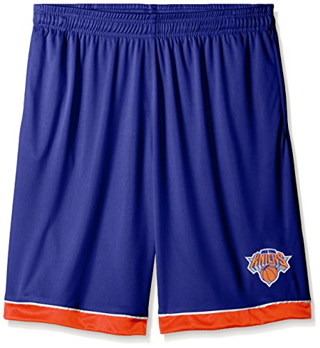 NBA New York Knicks Men's Poly Jersey Lower Trim Shorts, 2X, Royal (Nba Jersey New York Knicks compare prices)