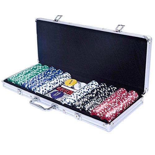 Pokerset Pokerkoffer Poker Set mit 500 ...