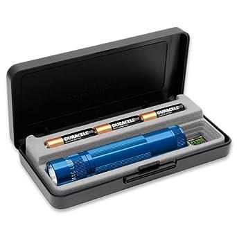 Mag-Lite XL100-S3117 LED-Taschenlampe XL100, 83 Lumen, 12 cm blau in Box mit 5 Modi, Motion Control u. elektron. Multifunktionsschalter