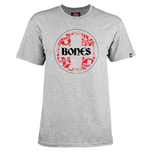Bones Bearings Swiss Multi Circle T Shirt Gray Medium