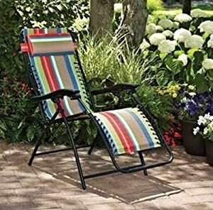 Patio bungee lounge chair these outdoor for Anti gravity chaise lounger