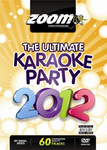 Zoom Karaoke DVD - The Ultimate Karaoke Party 2012 - 60 Songs