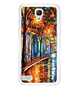 Colourful Painting 2D Hard Polycarbonate Designer Back Case Cover for Xiaomi Redmi Note :: Xiaomi Redmi Note 4G