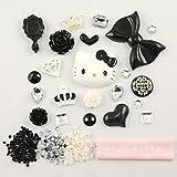 MINI KITTY-3D DIY beautiful Decoration Kits (kitty black bow)