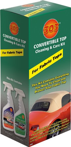 303 Products 30520 Convertible Fabric Top Cleaning and Care Kit