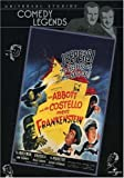 Cover art for  Abbott & Costello Meet Frankenstein