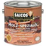 Saicos 0110 500 Holzspezialöl farblos 2.5 Liter