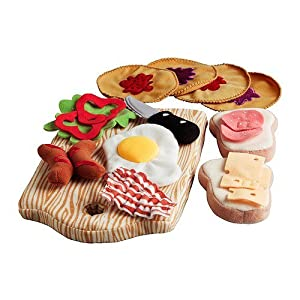 Ikea Duktig 15-piece Toy Breakfast Set
