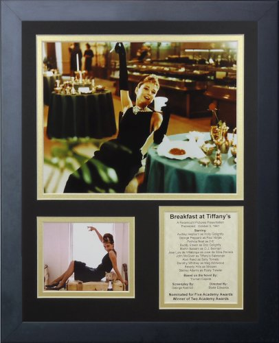Legends Never Die Breakfast at Tiffany's Framed Photo Collage, 11x14-Inch