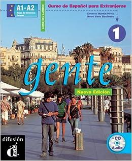 Gente. Libro del alumno. Con CD Audio: Gente 1. Nueva