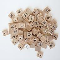 Scrabble Tiles (100 Letters Tiles)