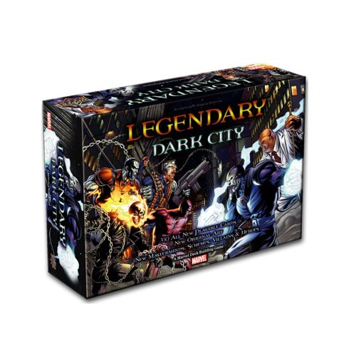 Legendary: A Marvel Deck Building Game: Dark City Expansion