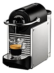 Nespresso Pixie Coffee Machine by Magimix - Aluminium
