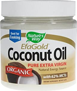 Nature's Way, Coconut Oil-Extra Virgin Organic 16 fl oz