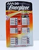 Energizer Max AAA Alkaline Batteries, 36-count Made in USA
