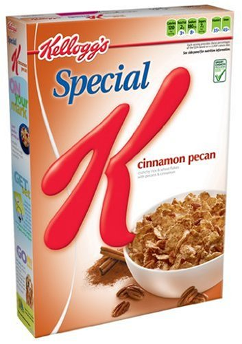 Special K Cereal, Cinnamon Pecan, 12.5-Ounce Boxes (Pack of 6)