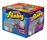 POOF-Slinky 100 Metal Original Slinky in Box, Silver