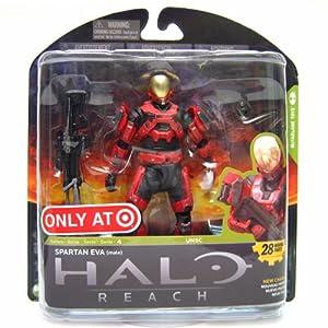 Halo Reach McFarlane Toys Series 4 Exclusive Action Figure TEAM RED Spartan E...