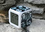 Faces of Elvis Cube LED Digital alarm Clock