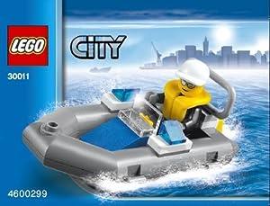 LEGO City: Police Boat Dinghy Set 30011 (Bagged)