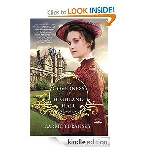 The Governess of Highland Hall: A Novel (Edwardian Brides)