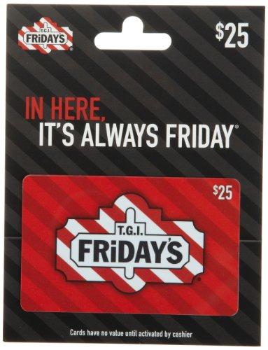 T.G.I. Friday's Gift Card $25