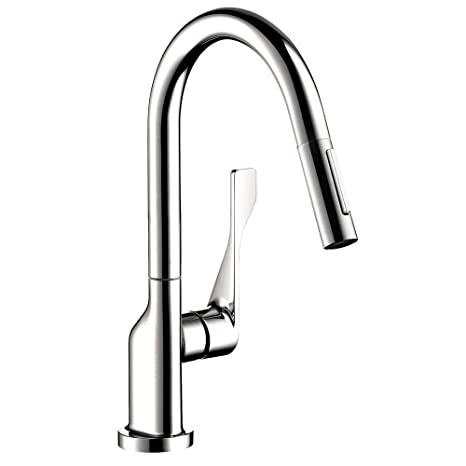 Axor 39836001 Citterio Pull-Down Prep Kitchen Faucet, Chrome