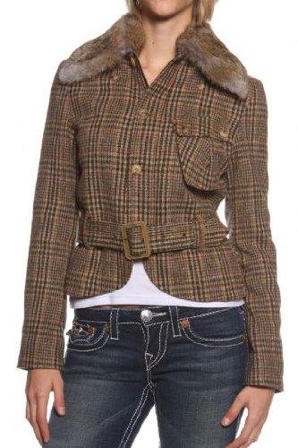 Belstaff Damen Jacke BURFORD BLOUSON , Farbe: Braun