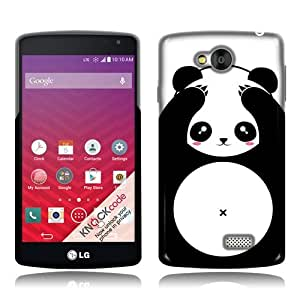 LG Tribute LS660 F60 MS359 Transpyre VS810PP Panda Bear Black White Style TPU Skin Cover