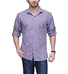 Macoro Men's Casual Shirt ( 3057 PRPL )