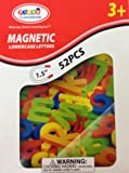Magnetic Lowercase Alphabet Letters 52 pcs - 1.5 Inches