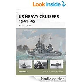 US Heavy Cruisers 1941-45: Pre-war Classes (New Vanguard)