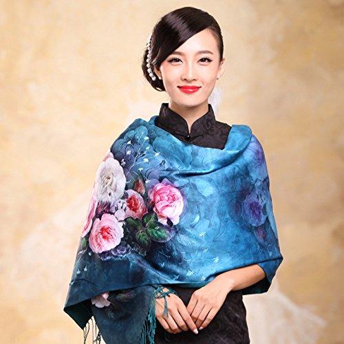 Autunno Inverno Womens Fashion eleganza Super Morbida sciarpa scialle Europa Street Style(cotone/lana/filo/seta)W-1920