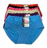 #9: Tescos Life Care ladies Panty set of 6 Multi color Size Medium
