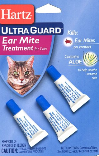 Best Ear Mite Medicine For Cats