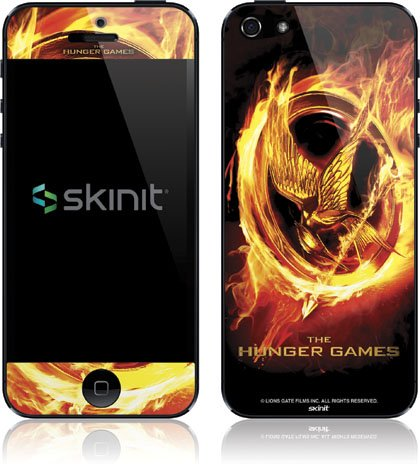 Skinit The Hunger Games Logo Vinyl Skin for Apple iPhone 5