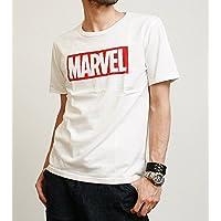 ジーアールエヌ[grn] マーベル・コミックスオフィシャルライセンスTシャツ「BOX LOGO」 GU421175R