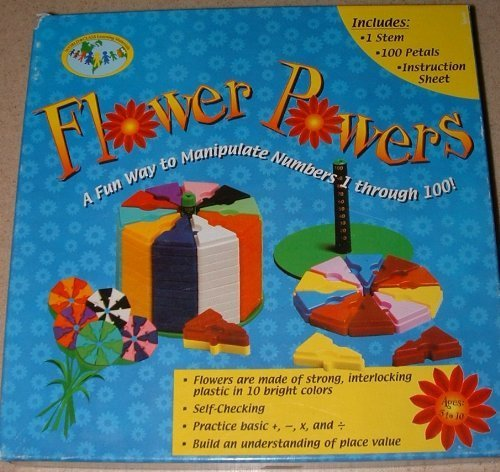 Flower Powers A Fun Way to Manipulate Numbers 1 through 100! - 1