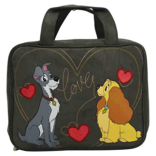 Disney Lilli e Il Vagabondo Valigetta Beauty Case Grande Porta Make Up Trucchi