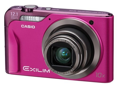 Casio Exilim EX- H10 Digital Camera - Pink (12.1MP, 10x Optical Zoom) 3.0 inch LCD